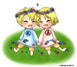 Flower Brothers by reddishpirate0614