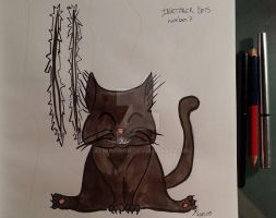 Inktober 2015 -day 7 by atsumimag