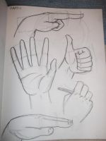 Hand Practise by EquinoxialSolstice