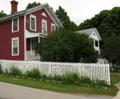Mackinac Island House 5 by Jenna-RoseStock