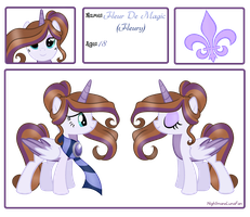 Fleur De Magic Reference Sheet by NightmareLunaFan