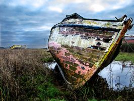 Abandoned Boat by Colin-Pierce