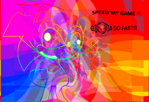 sonic the name speed my game XD by deathsbell