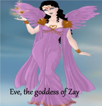 Eve, the goddess of Zay by Firenevermore2012