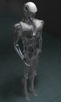 Asimo P9. Sketchup+Vray. Work in progress by raskayu77