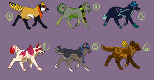 Point Adoptables [CLOSED] by grimgnostic