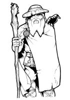 Odin, god of Magic by DarkJimbo