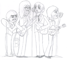 Beatles Sketch by GfdsyJuky