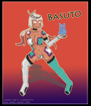 Commision: Basuto by purplemusic-B-ox
