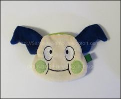 Zipper Pouch: Shiny Mr. Mime by Serenity-Sama