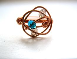 copper ring by faranway
