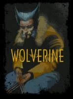 CLASSIC WOLVERINE 1982 TRIBUTE VARIANT COVER by BUMCHEEKS2