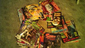 Scary Monsters + Monster Bash Magazines by TMNTFAN85