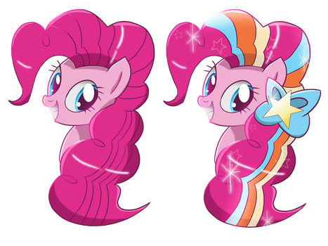 Pinkie Pie shirt desigs by Ilona-the-Sinister