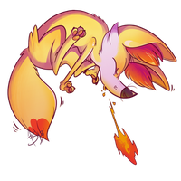 Fennekin by WindupFruitcake