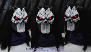 Death Bust Darksiders II Glow eyes by Uratz-Studios