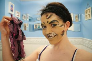 Tugger Makeup by maniacmuppet13