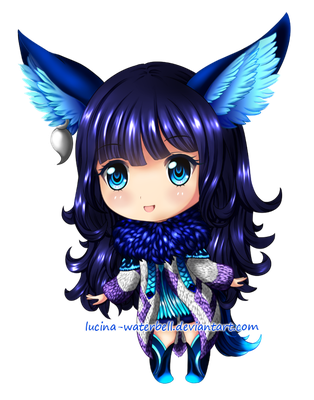 Chibi Shibelle (OC) by Lucina-Waterbell