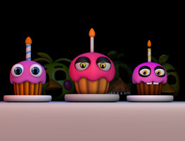 [2K] Cupcakes by GaboCOart
