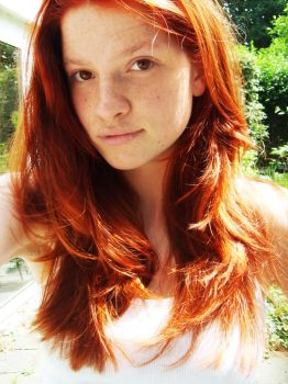 Redhead by Implified
