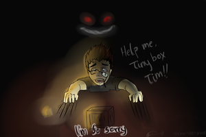 Help Me Tiny box Tim by Kittyhawkman