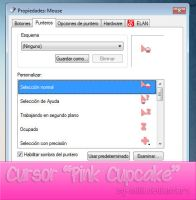 Cursor Pink Cupcake by By-Milii