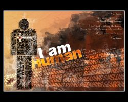 I AM HUMAN by a-humanist