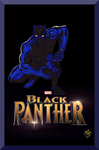 The Black Panther by Lpsalsaman