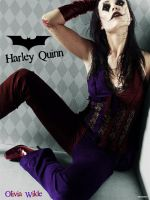 Olivia Wilde as Harley Quinn by everyone92
