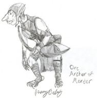 Orc Archer of Mordor by Fireborn46