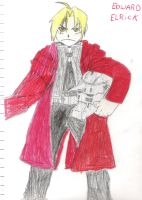 Edward Elric by FinalFantasywannabe