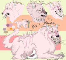Ref Sheet: Mormo by Kumotogi