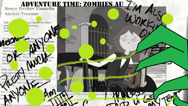 Zombies AU Advertisement by AceNos