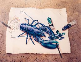 the lobster by illugraphy