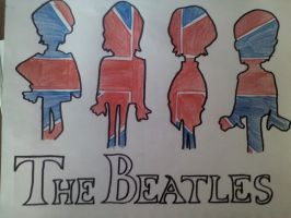 The Beatles by MAUWORLD274