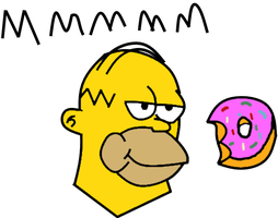 Homer Simpson by MTAD2