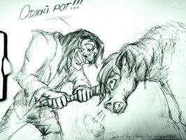 Give me your horn!! by gnomKOLIN