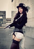 Steampunk Zatanna Cosplay by Sphingosine 2 by SNTP