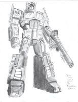 Optimus Prime comission by TheRepublicanMartian