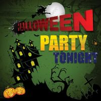 Free vector Halloween party tonight poster design by cgvector