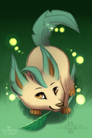 Leafeon by DOLFIY