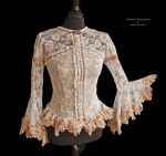 Blouse ivory lace, Somnia Romantica by M. Turin by SomniaRomantica