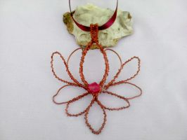 Water lily with copper wire by Mirtus63