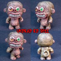 Munny Style Cheeks the Monkey by Undead-Art