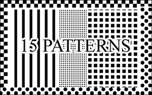 15 Assorted Patterns by illusionistica