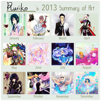 2013 Summery of Art by Ruri-dere