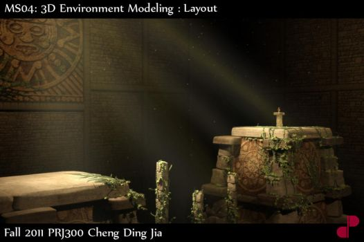 3D Environment shot2 by re45on