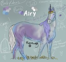 Airy Character Reference by Fforestwolf