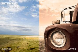 Intensify Photoshop Actions by photographypla-net