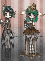 Steampunk Adoptables :CLOSED: by MissMignonne